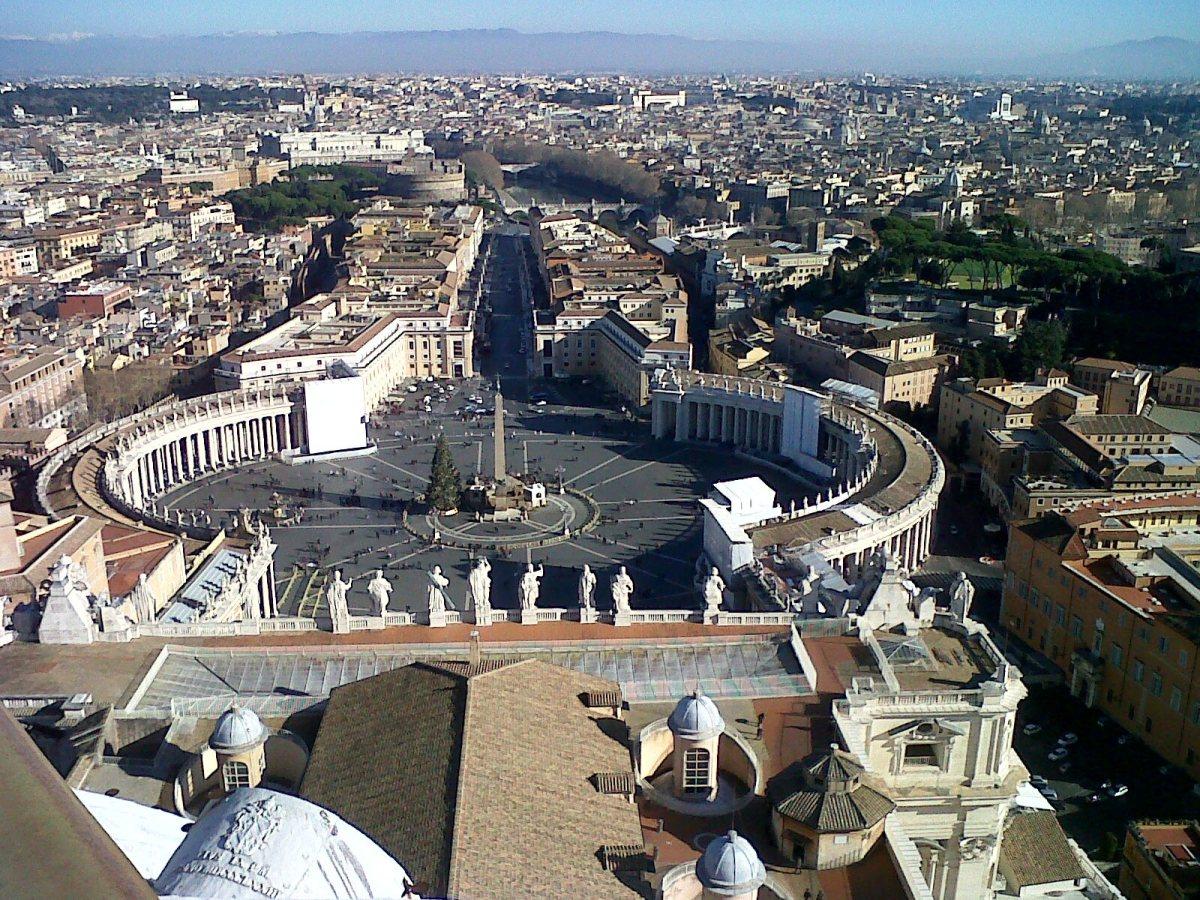 Desde la Cúpula del Vaticano