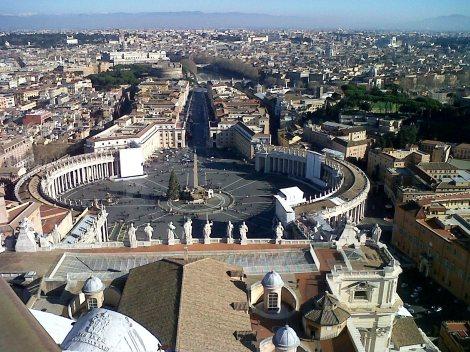 Vaticano con niños