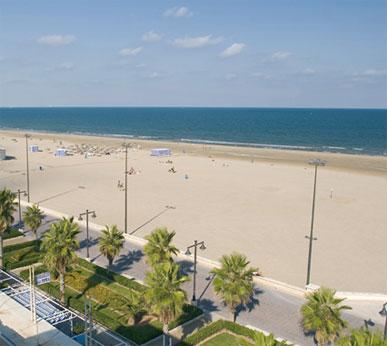 Top 10 playas urbanas: Valencia