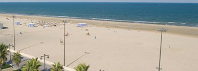 Top 10 playas urbanas: Valencia