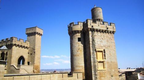 #Viajarenfamilia Castillo Olite
