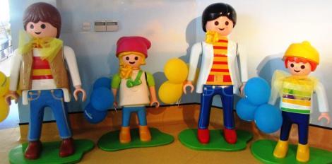Playmobil Malta con niños.
