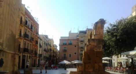 Plaza Forum Hispania Romana Tarragona