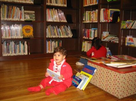 Biblioteca Nueva York Cuatro a bordo