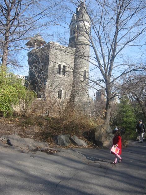 Castillo Belvedere en el mágico Central Park