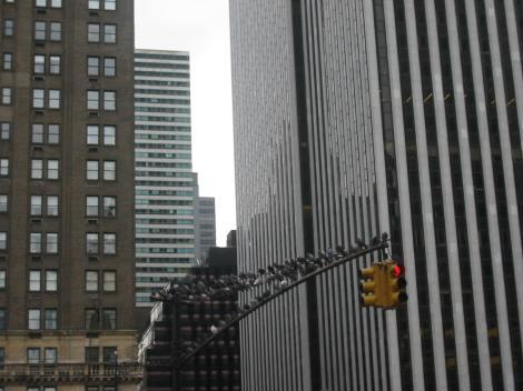 Callejear, callejear y callejear...precioso verbo para conjugar en Manhattan.
