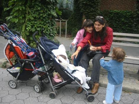 Si tu hijo es pequeño, imprescindible carrito. ¡Se camina muchísimo!