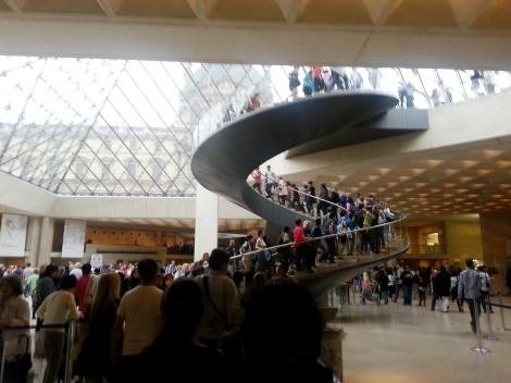 Museo Louvre con niños
