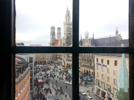 Munich con niños. Viajar en familia.