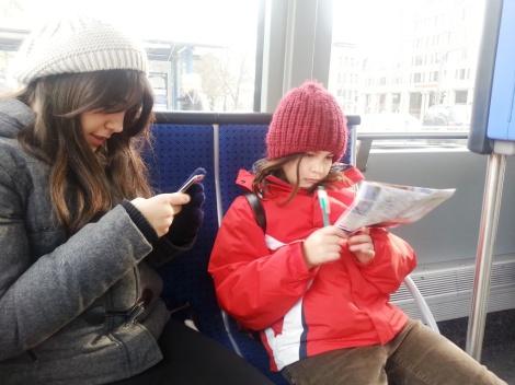 Tranvía Munich cuatroabordo