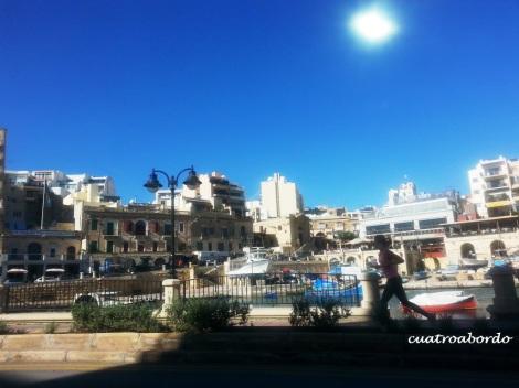Malta con niños. Cuatroabordo