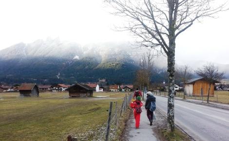Nieve alemania niños