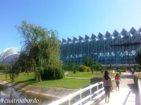 El museo de Ciencias de Valencia es ya un clásico que visitamos cada año