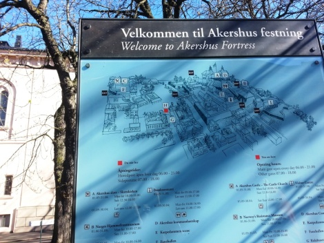 Recorrer la fortaleza Akershus supone un viaje en el tiempo a bordo de la imaginación.