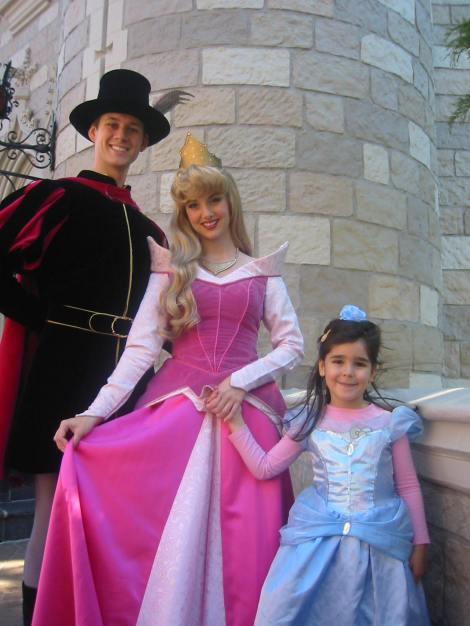En Orlando también nos encontramos con la Bella y su chico.