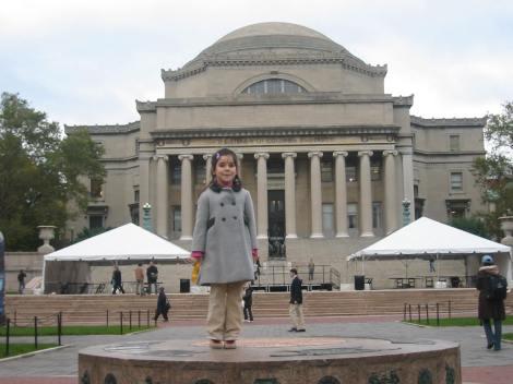 """La neoyorquina Columbia University, la """"Universidad de mamá"""", es la más especial para los Cuatro a bordo."""