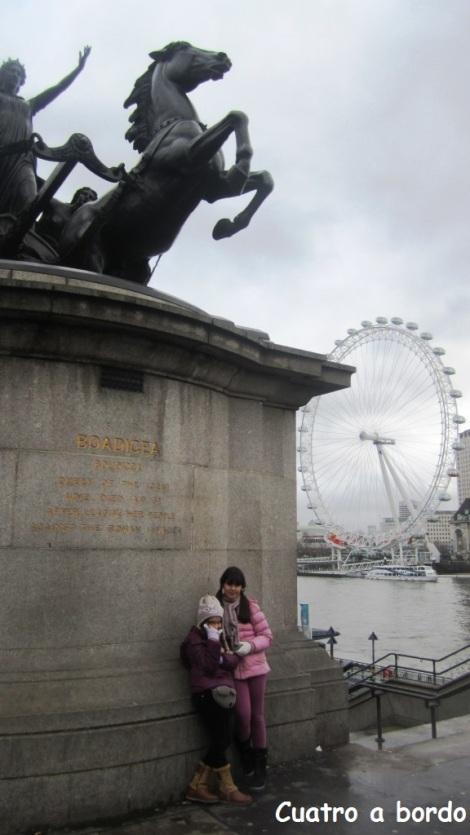 London Eye viajar con niños
