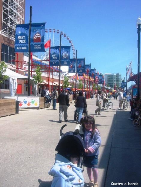 Navy Pier Chicago  con niños