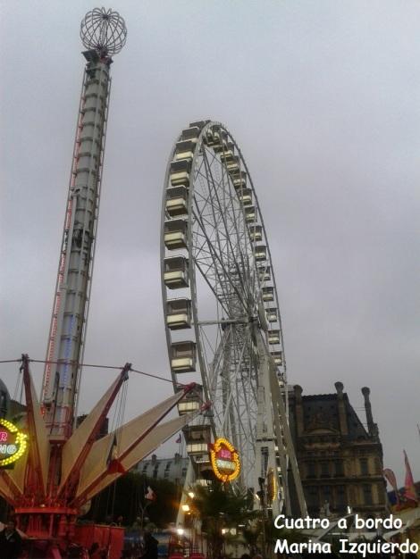 Noria París Viajar con niños