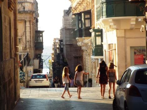 La mires por donde la mires Valletta siempre mira al mar