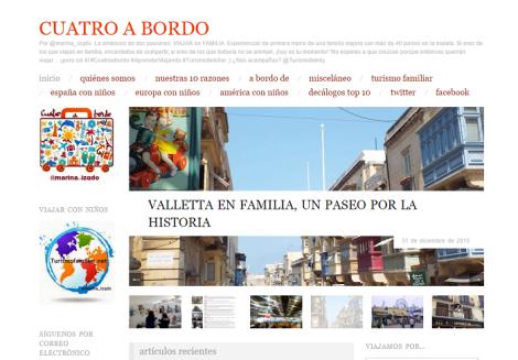 En Cuatroabordo.com encontrarás propuestas de primera mano para disfrutar en familia