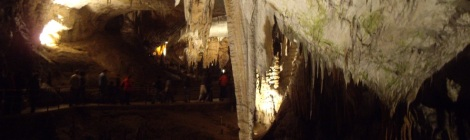 Cuevas Eslovenia turismo familiar