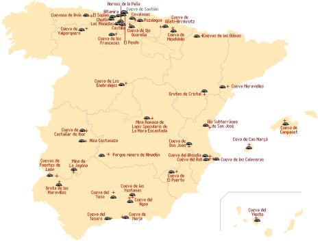 Cuevas España