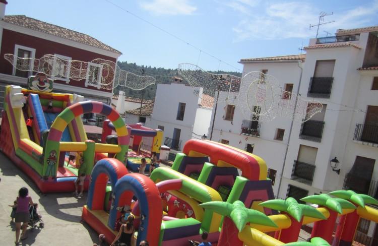 Agosto España en fiestas
